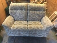 2 seater Parker Knoll ex gillies settee