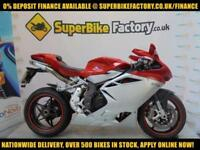 2010 10 MV AGUSTA F4 1000 R 2010 1000CC 0% DEPOSIT FINANCE AVAILABLE