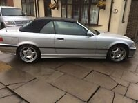 Bmw e36 328i auto convertible with hard top 1997 classic car M3 looker?