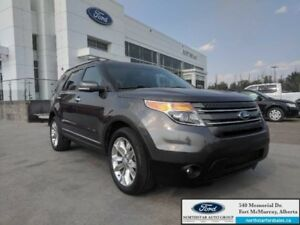 2015 Ford Explorer Limited|3.5L|Rem Start|Nav|Dual Panel Moonroo