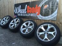 "17"" genuine Vauxhall Corsa VXR alloy wheels and tyres 5x110"