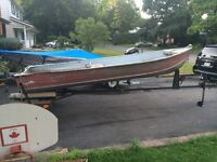 14 Foot Aluminum Sprinkbok Boat with Honda Motor