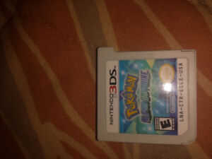 Loose Alpha Sapphire Pokemon Game for nintendo 3ds