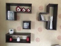 Mango effect shelving set