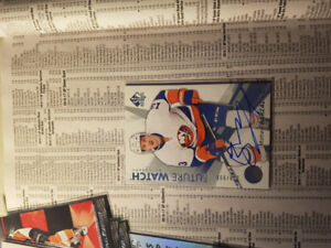 Hockey cards MATHEW BARZAL  FW and some others to look at