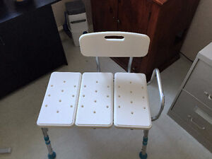 chaise de transfert pour bain