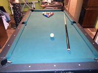 Pool and Air hockey table combo. $140.00 O.B.O