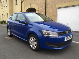 2010 VW POLO SE 1.6 TDI 75 BHP DIESEL 5DR £30 TAX ONLY ONE LADY OWNER!!