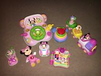 Baby girls Minnie toys
