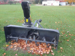 MK Martin Snow Blower, new, 60, 68, 72,  wide, 3 pth, tractor
