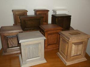 urne funeraire en bois a vendre