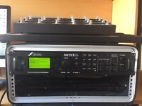 Axe-Fx II XL MFC 101 mk3 Gater rolling rack