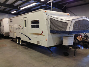 à vendre; roulotte 2005 Jayco Jay feather EXP 25G, Ultra-Light