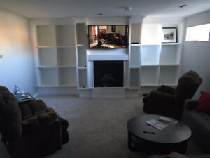Available immediately or Dec 1: newly renovated basement suite
