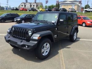 2018 Jeep Wrangler UNLIMITED 4 DR!! DEMO!! BACK UP CAM!!