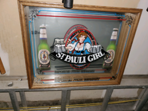 Rare beer mirror from Germany