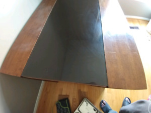 Dining table with 4 modern chairs