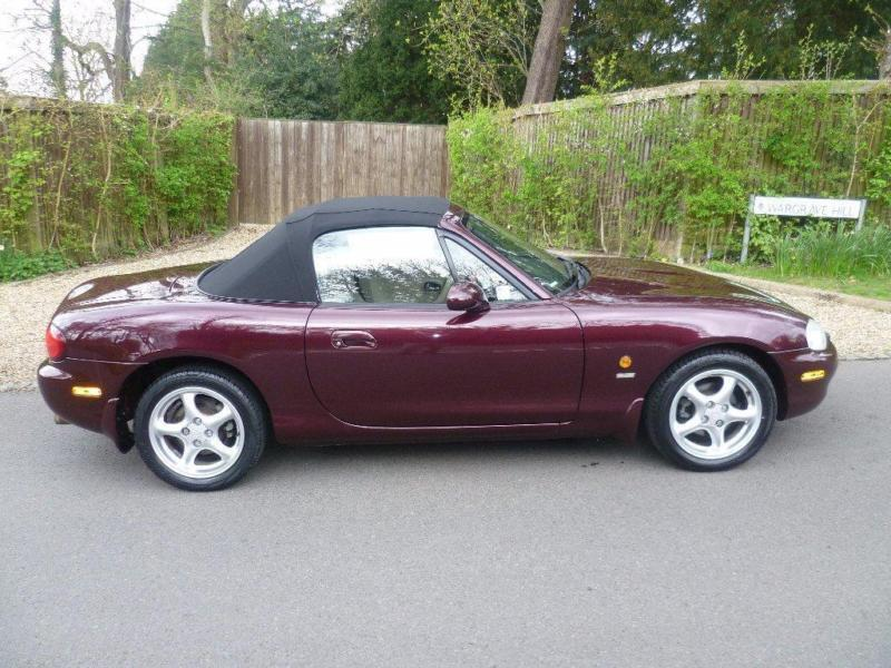 2000 mazda mx 5 1 8 i icon limited edition 2dr in. Black Bedroom Furniture Sets. Home Design Ideas