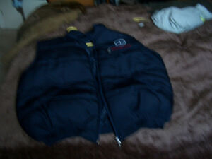 Mercedes puffed vest jacket