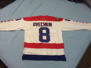 NEW Washington Capitals Alexander Ovechkin Winter Classic jersey