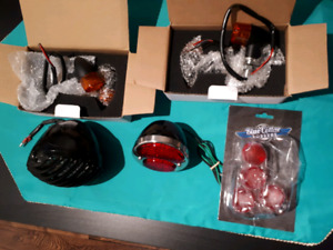 Ford 1929 motorcycle rear and front light kit for sale