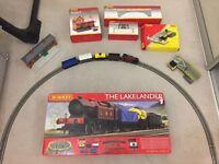 Hornby Lakelander set and accessories
