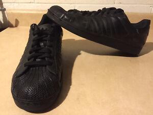 Men's Black Adidas Sport Shoes Size 14 London Ontario image 6