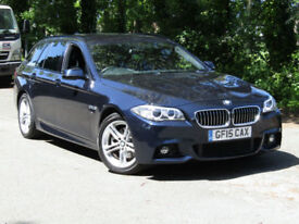 BMW 520 2.0TD Touring Auto d M Sport***STUNNING CAR***£3000 WORTH OF UPGRADES***