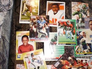 FOOTBALL CARDS FROM 90'S approx. 40 cards $20 Prince George British Columbia image 1