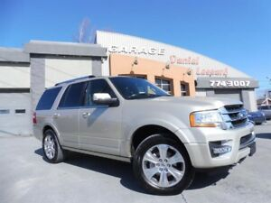 Ford Expedition LIMITED, 3.5 L ÉCO, CUIR, TOIT, MAG 20 P ET ++ 2