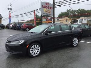 2015 Chrysler 200 LX   FREE 1 YEAR PREMIUM WARRANTY INCLUDED!