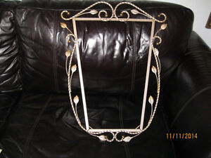 Cadre Antique, Fer Forge - Beauti Antique Wrought Iron Frame