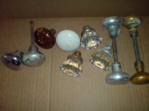 Lot of antique Doorknobs sold as a lot  Vintage