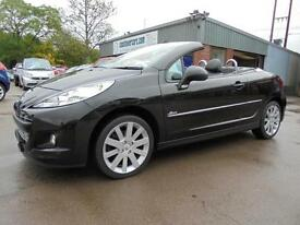 Peugeot 207 CC 1.6 VTi 120 Allure. From £111 per month.