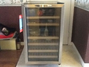 Dandy designer dual control wine fridge