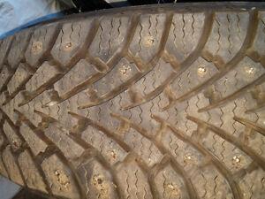 215 65 16 winter tires on rims (2)
