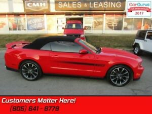 2012 Ford Mustang GT  CALIFORNIA SPECIAL, LEATHER, MANUAL, 410HP