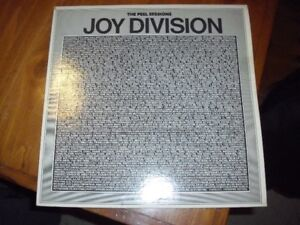 joy division peel sessions lp vinyl record