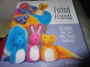 Klutz Felted Friends....create these 5 little critters