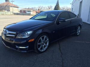 2012 MERCEDES C-350 4MATIC COUPE IMPECCABLE