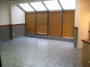 Beautifully designed above shop office space available for lease