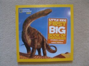 National Geographic Kids Hardcover Book About Dinosaurs (New!)