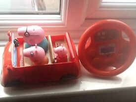 Peppy pig remote control car