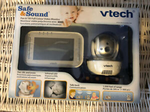 Brand New Vtech Safe and Sound Baby Monitor - Color/Video