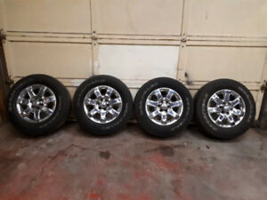 "Ford F150 18"" tires & rims"