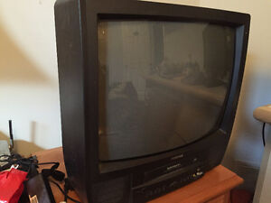 Moving sale 30 inch Toshiba with VHS Player built in.