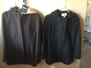 Size small winter coats for sale!