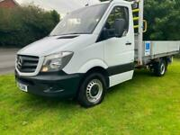 Mercedes Sprinter 314Cdi 3.5t 11ft 8in Dropside Euro 6, 1 Owner, Very Clean
