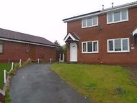 Beautifully modern semi detached property in quiet cul-de-sac location close to town centre