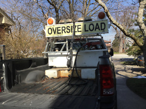 Pilot Truck Oversize Load Sign and Equipment